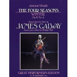 The Four Seasons - Winter Op.8 No.4 (Flute/Piano)