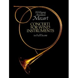W.A. MOZART : Concerti For Wind Instruments