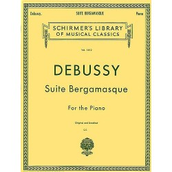 SUITE BERGAMASQUE FOR THE PIANO